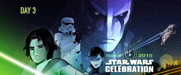 Star Wars Celebration – Dia 3 – 2ª Temporada De Rebels, Marvel E Fan Films
