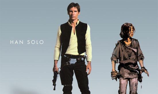 Harrison Ford e o Han Solo que não apareceu em ROTS