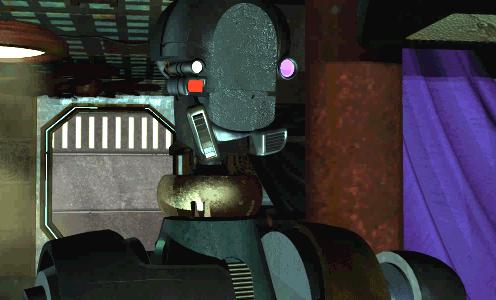 O jogo também tinha personagens em CGI!