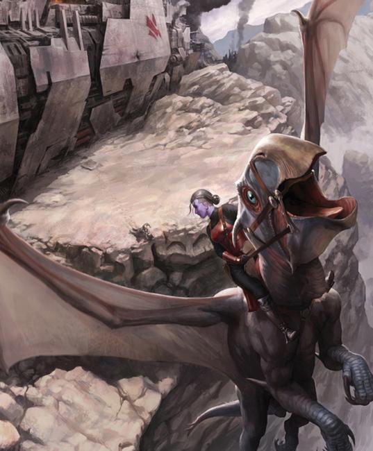 Adari Vaal vê os irmãos Korsin lutando perto da queda da Omen