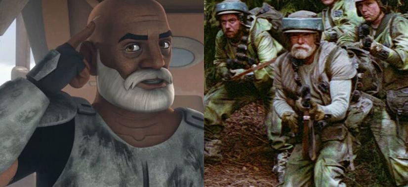 Rex Foi Confirmado Em O Retorno De Jedi?