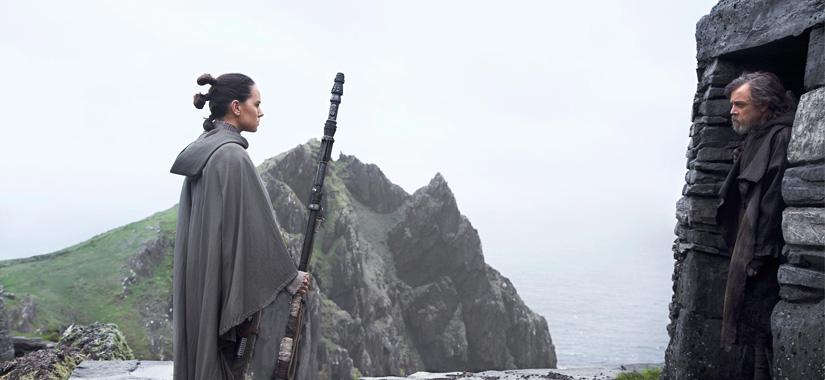 OS ÚLTIMOS JEDI | Poderia Rey Salvar Luke De Sua Própria Escuridão?