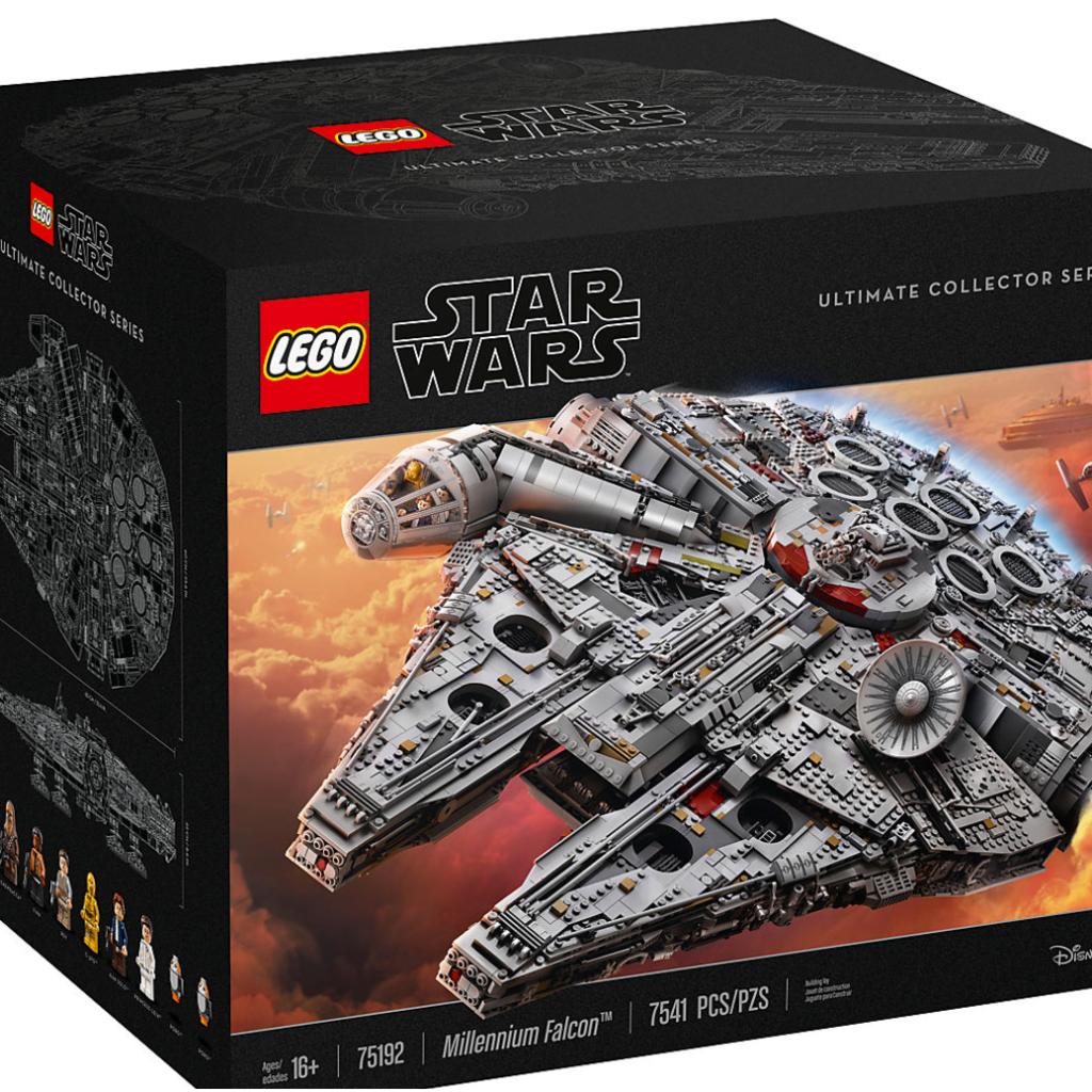 Lego Star Wars Ucs Millennium Falcon Fex5.1920