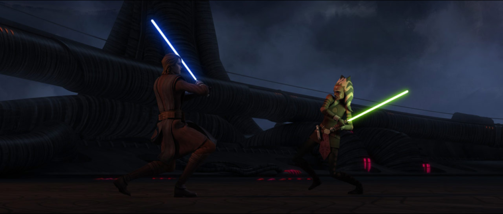 Anakin vs Ahsoka (The Clone Wars, Season 3)