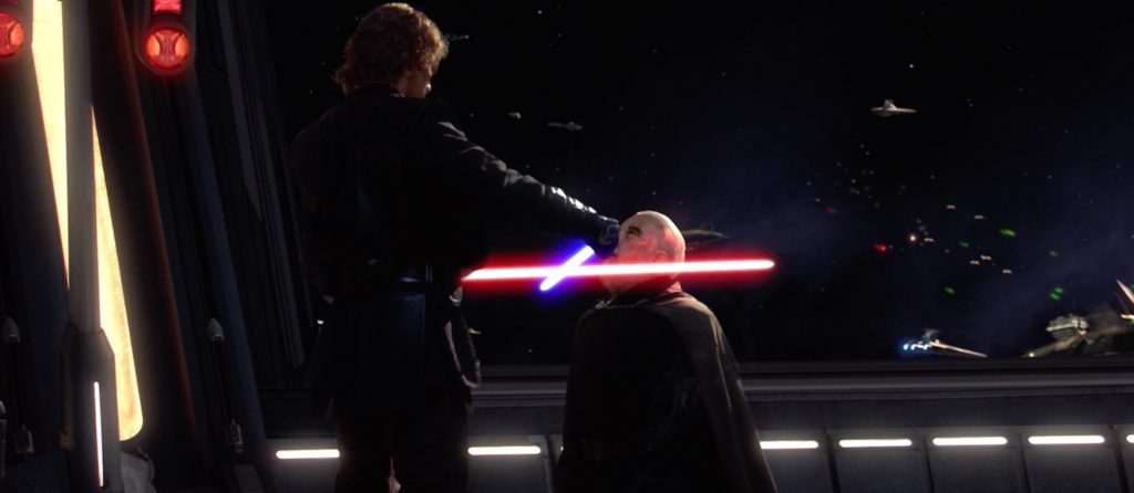 Anakin vs Dookan (Episode III - Revenge of the Sith)