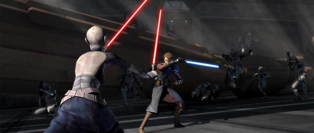 Anakin vs Ventress (The Clone Wars, Season 3)