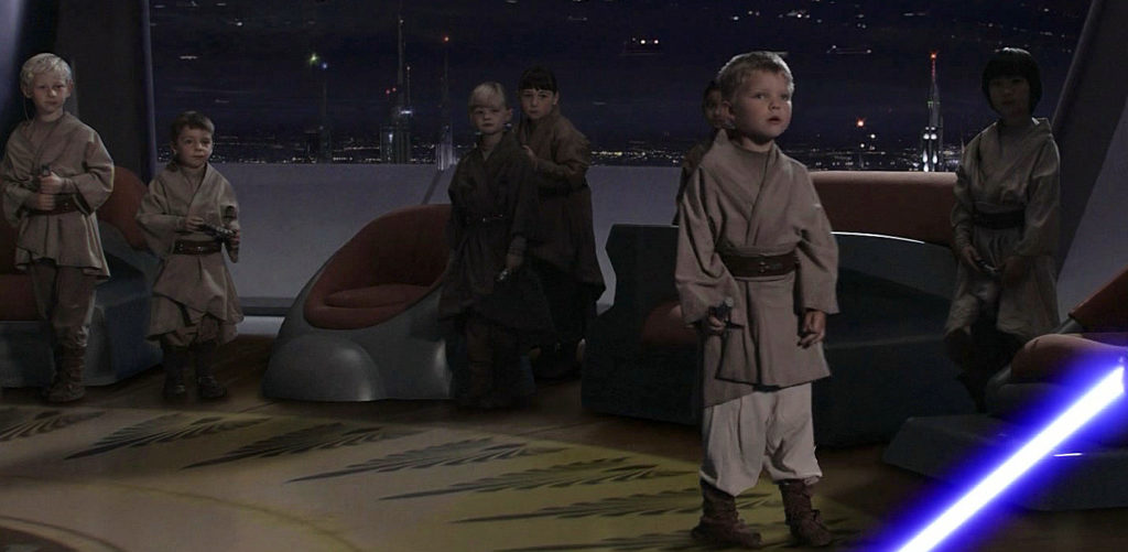 Anakin vs Younglings (Episode III - Revenge of the Sith)