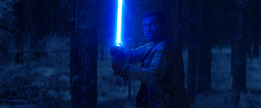 Finn vs Kylo Ren (Episode VII - The Force Awakens)