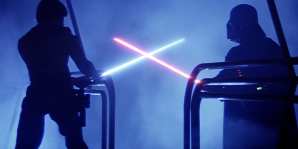 Luke vs Darth Vader (Episode V - The Empire Strikes Back)