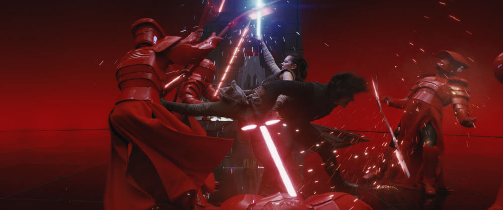 Rey vs Praetorian Guard (Episode VIII - The Last Jedi)