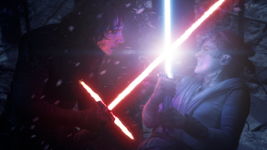 Rey vs Kylo Ren (Episode VII - The Force Awakens)