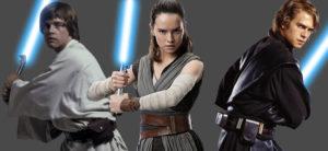 O lightsaber de Anakin Skywalker