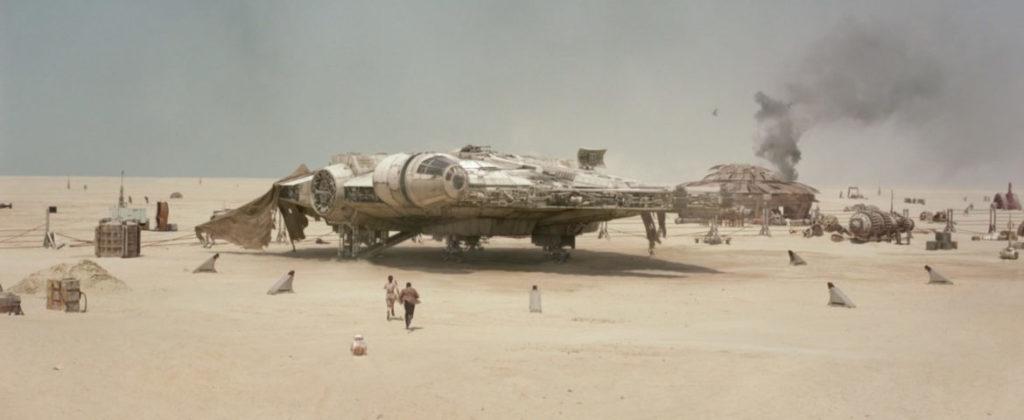 Millennium Falcon The Force Awakens