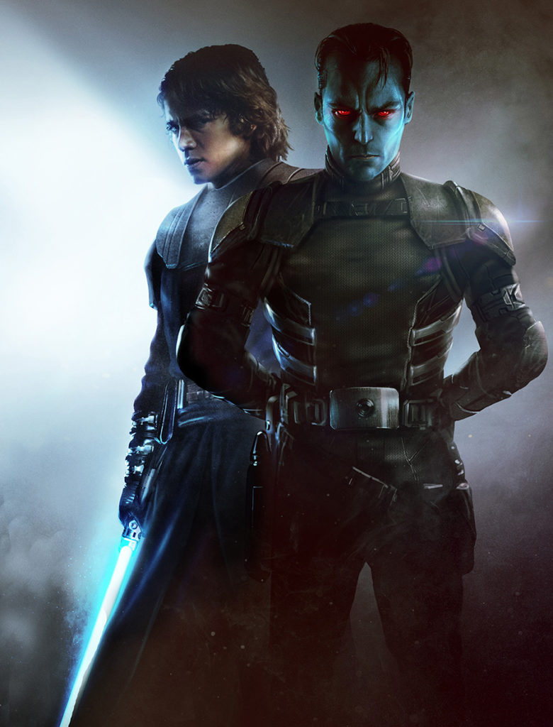 Thrawn and Anakin
