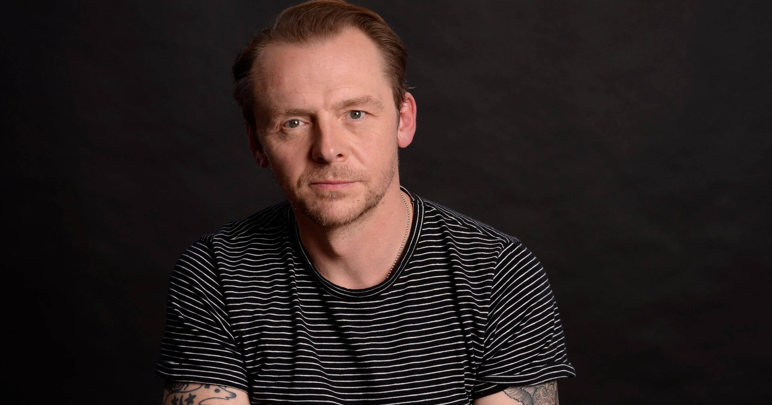Simon Pegg Pede Desculpas Por Críticas à Jar Jar Binks