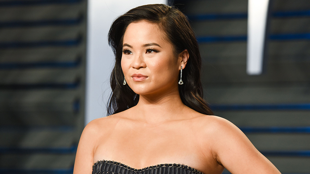 Mandatory Credit: Photo By Owen Kolasinski/BFA/REX/Shutterstock (9449143df) Kelly Marie Tran Vanity Fair Oscar Party, Arrivals, Los Angeles, USA - 04 Mar 2018