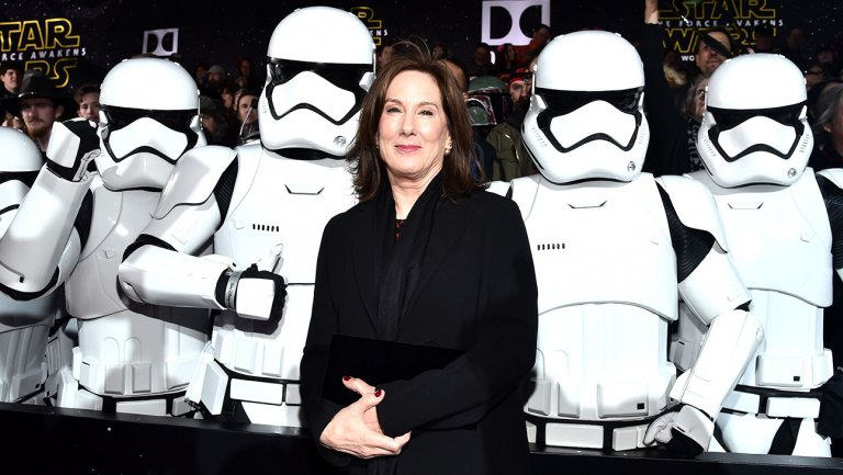 President Of Lucasfilm Kathleen Kennedy Attends The World Premiere Of Star Wars  The Force Awakens Getty H 2018