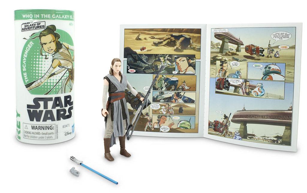 Rey Galaxy of Adventures Hasbro