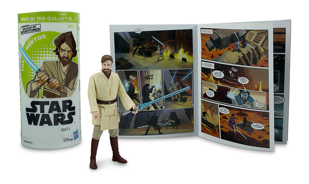 Obi-Wan Galaxy of Adventures Hasbro