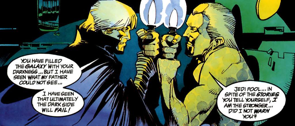Luke Skywalker vs Darth Sidious
